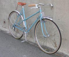 A recently built up Ebisu single speed road bike