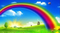 Rainbow Archives - Free Screensavers and Backgrounds Rainbow Wallpaper, Nature Wallpaper, Wallpaper Backgrounds, Field Wallpaper, Free Screensavers, Rainbow Images, Visualisation, Clip Art, Joy And Happiness