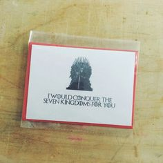 15 Amazing Game Of Thrones Valentine's Cards For The Moon Of Your Life