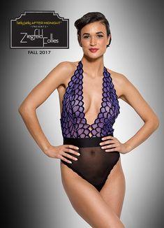 d8476ed10e Hanky Panky s Ziegfield Folies bodysuit in our Partner Spotlight! Purple  Lingerie