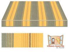 Tende da sole Tempotest gialli 939/12