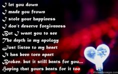 41 Best I Am Sorry Messages Quotes And Poems Images I Am Sorry