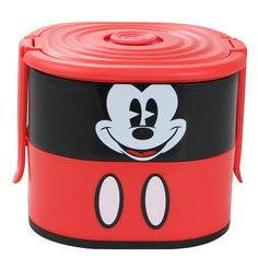Mickey Mouse - Lunchbox / Marmita - Azzurium Decorações e Presentes Criativos Disney Lunch Box, Mickey Mouse, Lunch Boxes, Colorful Drinks, Afternoon Snacks, Creative Gifts, Hilarious, Baby Mouse