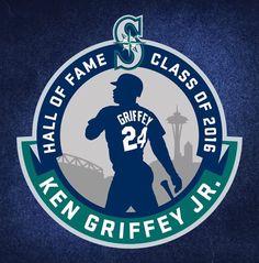 Mariners Baseball, Seattle Mariners, Seattle Seahawks, Baseball Teams, Anniversary Logo, Ken Griffey, Buster Posey, Yadier Molina, Oakland Athletics