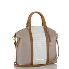 Large Duxbury Satchel - Lady Vineyard Macaroon #brahmin #bags #borse