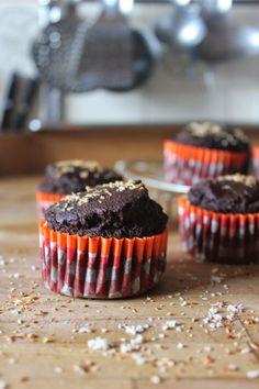 muffins au chocolat lait de coco vegan
