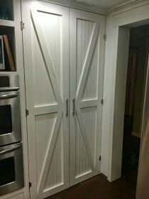 Barn style door for the pantry door want it stained dark