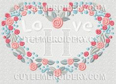 Free Embroidery Designs, Cute Embroidery Designs