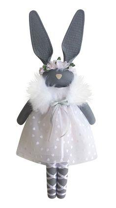 Fabric Bunny - navyplum.com