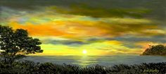 Panoramic Sunset by Ave Hurley of ArtRave