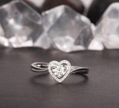 Heart Engagement Ring <3