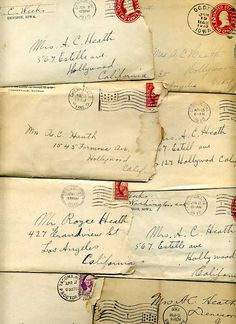love letters .. I LOVE love letters! I love words & the written word just GETS to me. When someone takes the time to write, it goes beyond a simple expression of thoughts into a different level of thoughtfulness, care, concern and love.