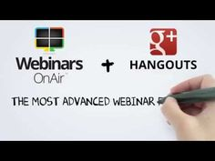 Webinars OnAir | Powerful Webinar Software for Google+