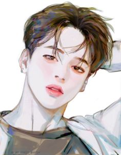 Isf u like bts here are some fanart u might like Thanks ❤ Jimin Fanart, Kpop Fanart, Bts Chibi, Bts Anime, Anime Guys, Manga Art, Anime Art, Kpop Drawings, Fanarts Anime