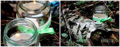 Ni*na*del: Wiesn Zeit, schöne Zeit...Kleine DIY Ideen zum Oktoberfest: Teelichthalter