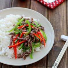 Stir-fried beef with green peppers|ChinaSichuanFood