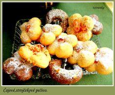 Čajové, sladučké pečivo (fotorecept) - recept   Varecha.sk Potatoes, Cookies, Fruit, Food, Basket, Biscuits, Meal, Potato, The Fruit
