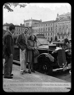 Edith Piaff Avec Charles Trenet ♥❤ ♡ ❤♥❤ ♡ ❤