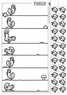 {Caterpillar Counting Freebie} Common Core Math for Kindergarten Kindergarten Worksheets, Preschool Activities, Preschool Centers, Math Games, Learning Activities, Teaching Kids, Kids Learning, Kindergarten Newsletter, Math For Kids
