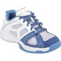 Wilson Tennisschuh Rush Pro JR 2 Junior Junior white/light blue/Dark blue