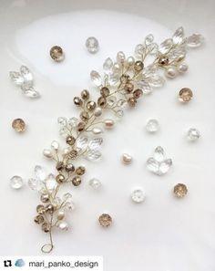 38 Trendy diy jewelry hair ideas – Hair is art Wolf Jewelry, Hair Jewelry, Wedding Jewelry, Beaded Jewelry, Jewelry Tools, Bride Hair Accessories, Jewelry Accessories, Hair Beads, Diy Schmuck