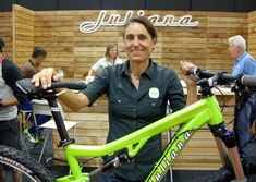 When Juliana Furtado was racing cross-country, nobody in the world could even come close. Occasionally, Julie would roll back from a comfortable lead and join her competitors to break the loneliness from being a half a lap or so in the lead - every weekend during the World Cup season. The girl was a force of nature. Juli works at Santa Cruz Bike now, and was at Interbike to launch their new women's-specific Juliana range.