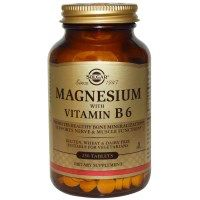 Check out this product I found on iHerb.com. Solgar, Magnesium, with Vitamin B6, 250 Tablets