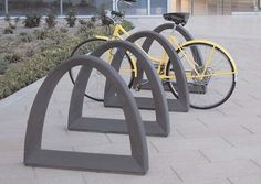 One of the fastest growing trends in site furnishings, bike racks support the environment and promote healthy living. Three new sophisticated styles encourage bicycle commuting, while offering the quality and durability that can only be found in precast concrete from Quick Crete.