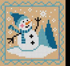 Thrilling Designing Your Own Cross Stitch Embroidery Patterns Ideas. Exhilarating Designing Your Own Cross Stitch Embroidery Patterns Ideas. Cross Stitch Christmas Ornaments, Xmas Cross Stitch, Cross Stitch Cards, Cross Stitch Kits, Cross Stitch Designs, Cross Stitching, Cross Stitch Embroidery, Embroidery Patterns, Christmas Snowman