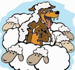 """GAME: sheep and wolf -The wolf begins by walking around the outside of the circle. While doing this, he or she will tap the head or shoulder of each child in the circle, saying, """"Sheep.""""  The wolf can say """"sheep"""" to as many kids as he or she wants. However, at some point, the wolf will say, """"Shepherd"""" while taping the head or shoulder of one child.     Upon hearing this, the shepherd must get up and chase the wolf around the circle. The wolf tries to get back to the empty spot ETC -READ!!!"""