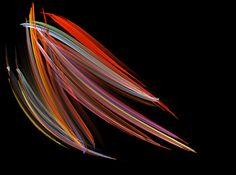 Plumas de arco Iris