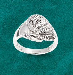New for Summer - Owl Ring $28 - I NEED THIS TO LIVE!!!