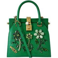 356c4dbd19 Dolce  amp  Gabbana Mini Iguana Print Top Handle Bag (5 895 BGN) found