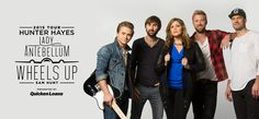 Lady Antebellum, with Hunter Hayes and Sam Hunt - Isleta Amphitheater - Albuquerque, NM - July 12th, 2015