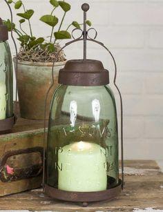 Mason Jar Butler Lantern