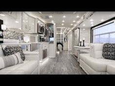 Get a complete overview of the King of the Road, the 600 horsepower Newmar King Aire luxury motorhome, including video tour and 360 degree interior view.