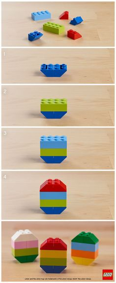 LEGO Easter Egg Building Ideas for Kids. In search of a fresh idea for your family Easter traditions? Why not build your own?
