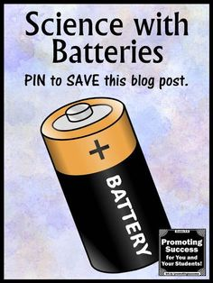 How do you know if a battery is dead? ...and WHY science experiment for kids. Visit this teacher blog for a FREE classroom video. You will also find free printable scientific method task cards for science centers or stations SCOOT games and other fun activities for students.