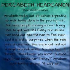 Percabeth headcanon made by me Nymph percy annabeth percabeth
