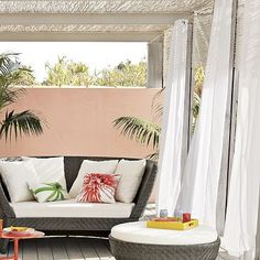 I love the Solid Outdoor Drape on westelm.com