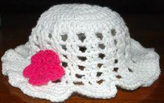 Amy's Crochet Creative Creations: Crochet Toddler Floppy Sun Hat