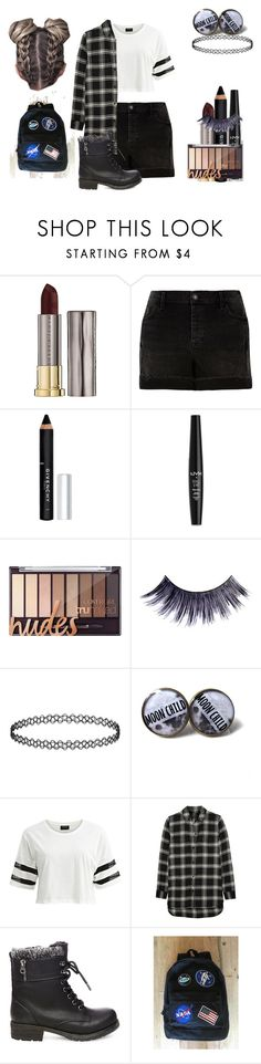 """Isabelle Juliette Fischer Style Two"" by shestheman01 on Polyvore featuring Urban Decay, River Island, Givenchy, NYX, Manic Panic NYC, VILA, Madewell, Steve Madden and plus size clothing"