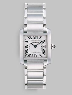 3edad80233e My next watch will be the Cartier Tank Francaise with Stainless Steel  Bracelet (medium).