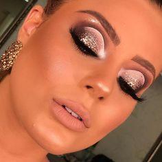 Make por Rak Quevedo ❤ Unique Makeup, Gorgeous Makeup, Love Makeup, Colorful Makeup, Glam Makeup Look, Girls Makeup, Baddie Makeup, Sexy Makeup, Makeup Eye Looks