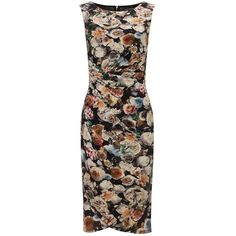 Phase Eight Alexa Floral Dress, Multi featuring polyvore, fashion, clothing, dresses, floral mini dress, sleeveless bodycon dress, floral maxi dress, sleeveless maxi dress and knee length bodycon dress