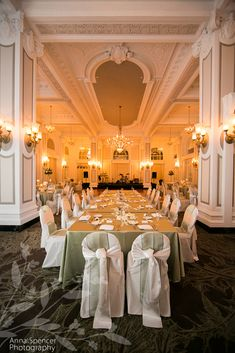 Photograph of the Grand Ballroom at the Georgian Terrace Hotel