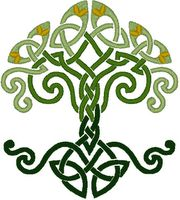My future tattoo...tis the tree of life, also known as the Rowan tree <3