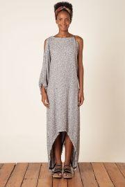 vestido textura p/b