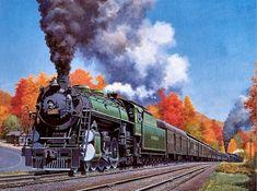 Steam Locomotive in action. Locomotive Diesel, Steam Locomotive, Old Steam Train, Southern Railways, Bonde, Norfolk Southern, Train Pictures, Outdoor Pictures, Train Art
