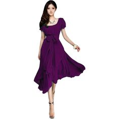 Barato 2015 verão bohemia vestido roxo colar quadrado chiffon mulheres casual vestidos plus size s xxl ( 115 KG ) 5 cores b302, Compro Qualidade Vestidos diretamente de fornecedores da China:           2015 New Summer Style Casual Women Dress Loose Sexy Seethrough Solid Long Sleeve O-Neck Fashion Vest